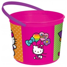 Hello Kitty Rainbow Plastic Favour Box 12cm x 16cm