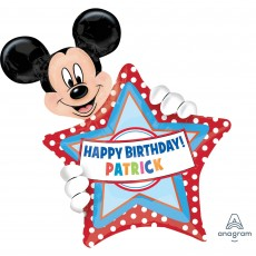 Mickey Mouse SuperShape XL Personalized Shaped Balloon