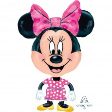 Minnie Mouse Buddies Airwalker Foil Balloon