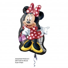 Minnie Mouse SuperShape XL Full Body Shaped Balloon 48cm x 81cm