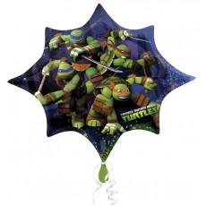 Teenage Mutant Ninja Turtles SuperShape XL Shaped Balloon 88cm x 73cm