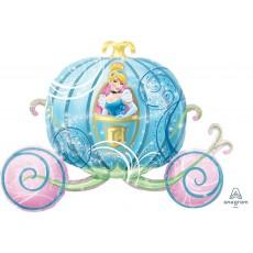 Cinderella SuperShape XL  Carriage Foil Balloon