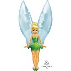 Disney Fairies Tinker Bell See-Thru Shaped Balloon
