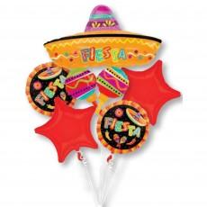 Mexican Fiesta Bouquet Shaped Balloons