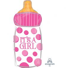 Baby Shower - General Junior XL IT'S A GIRL Shaped Balloon 25cm x 58cm