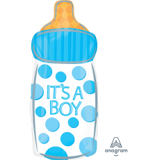 Baby Shower - General Junior XL IT'S A BOY Shaped Balloon 25cm x 58cm