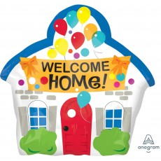 Welcome Junior XL House Shaped Balloon