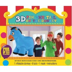 Misc Occasion Inflatable Pin Tail Donkey Party Game