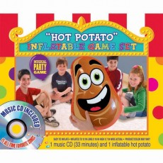 Happy Birthday Inflatble Hot Potato Party Game