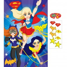Super Hero Girls Party Supplies - Party Game