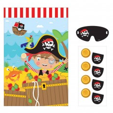 Pirate's Treasure Little Pirate Party Game