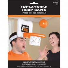 Basketball Fan Nothin' But Net Basketball Inflatable Hoop Party Game