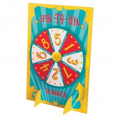 Party Game Carnival Prize Wheel Spin to Win Party Supplies -