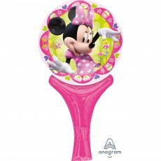 Minnie Mouse CI: Inflate-A-Fun Shaped Balloon 30cm
