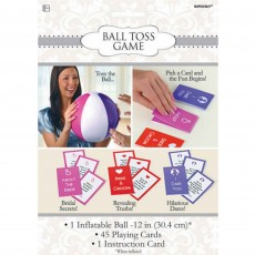 Bridal Shower Ball Toss Party Game