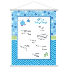Shower with Love Boy Party Supplies - Sign In Sheet