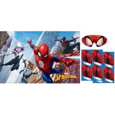 Spider-Man Webbed Wonder Party Game For 2-8 Guests
