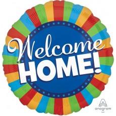 Welcome Home Blitz Foil Balloon