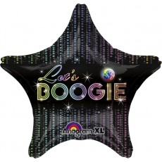 Disco & 70's Disco Fever Standard XL Shaped Balloon