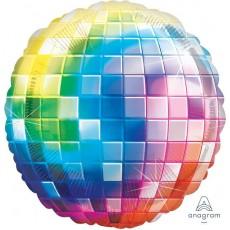 Disco & 70's Disco Fever Jumbo XL Disco Ball Shaped Balloon