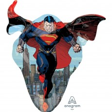 Superman Party Decorations - Shaped Balloon SuperShape Man of Steel