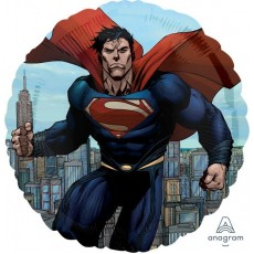 Superman Standard HX Man of Steel Foil Balloon