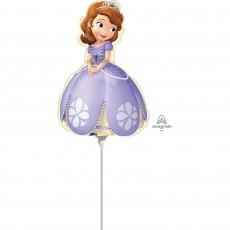 Sofia The First Mini Pose Foil Balloon
