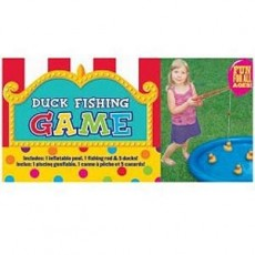 Hawaiian Luau Duck Fishing Party Game