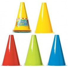 Sports Field Cone Party Games Pack of 4