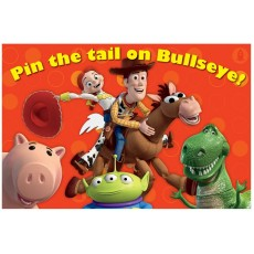 Toy Story Pin the Tail on BullsEye! Party Games