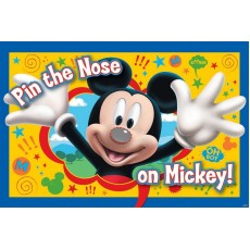 Mickey Mouse 'Pin the nose on Mickey' Party Game