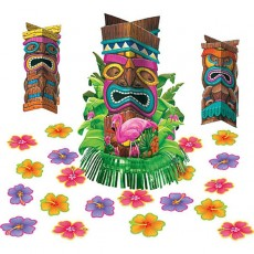 Hawaiian Luau Tiki Table Decorating Kit