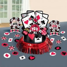 Casino Night Place Your Bets Table Decorating Kit