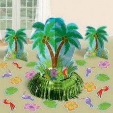 Hawaiian Luau Palm Tree Table Decorating Kits