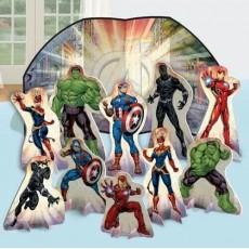 Avengers Party Decorations - Decorating Kit Marvel Powers Unite Table