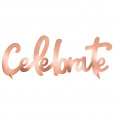 Blush Birthday Party Decorations - Centrepiece