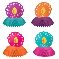 Diwali Honeycomb Centrepieces