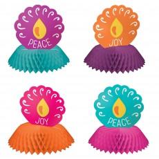 Diwali Party Decorations - Centrepieces Honeycomb