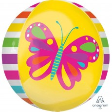 Multi Colour Spring Butterfly Shaped Balloon