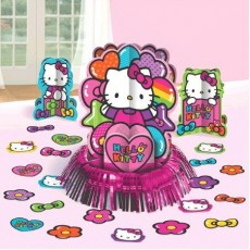Hello Kitty Rainbow Table Decorating Kit