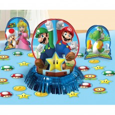 Super Mario Table Decorations Decorating Kit