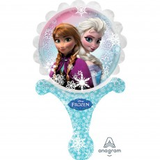 Disney Frozen CI: Inflate-A-Fun Holographic Shaped Balloon