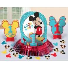 Mickey Mouse 1st Birthday Fun To Be One Table Decorating Kit