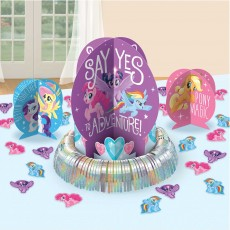 My Little Pony Party Decorations - Table Kit Friendship Adventures
