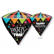 Happy Birthday Party Time! Shaped Balloon