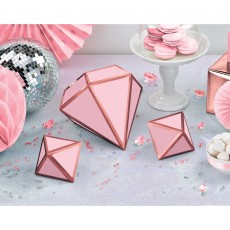 Wedding Party Decorations - Blush Wedding 3D Table