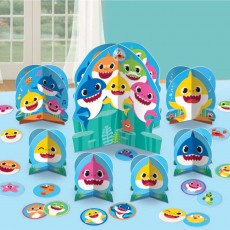 Baby Shark Party Decorations - Decorating Kit Table