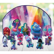 Trolls World Tour Table Decorating Kits Pack of 12
