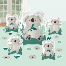 Koala Party Decorations - Decorating Kit Table