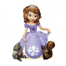 Sofia The First Party Decorations - Airwalker Foil Balloon